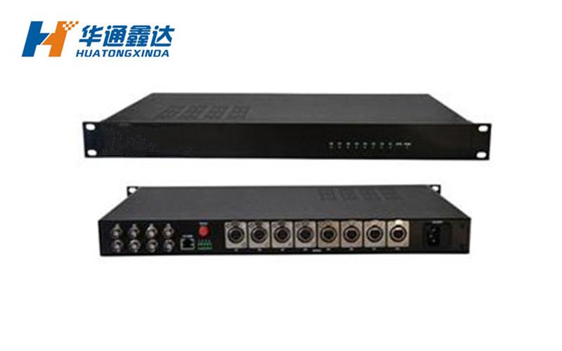 1-8路广播级模拟音频光端机