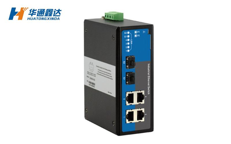 1光4电工业以太网交换机