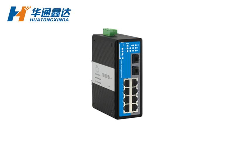 1光8电工业以太网交换机