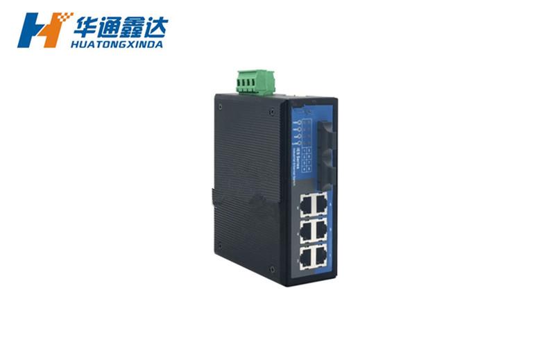 2光6电工业以太网交换机