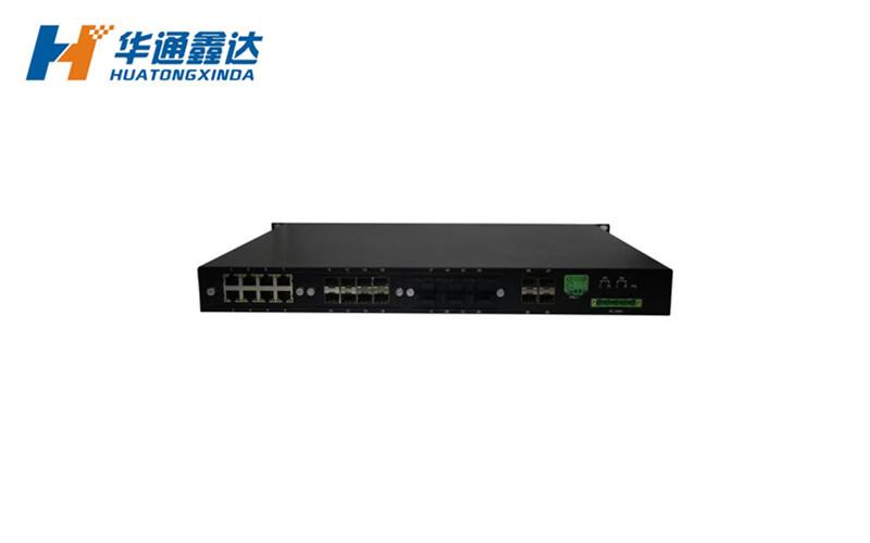 4光24电非网管工业以太网交换机