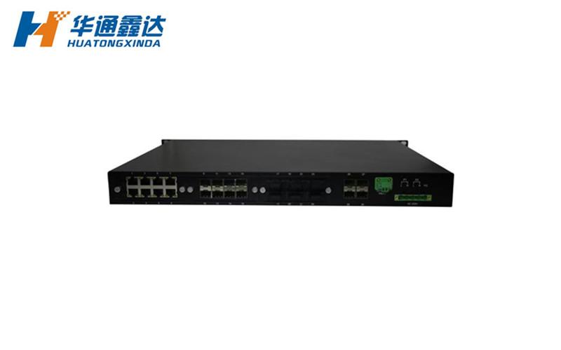 12光16电口网管型工业以太网交换机