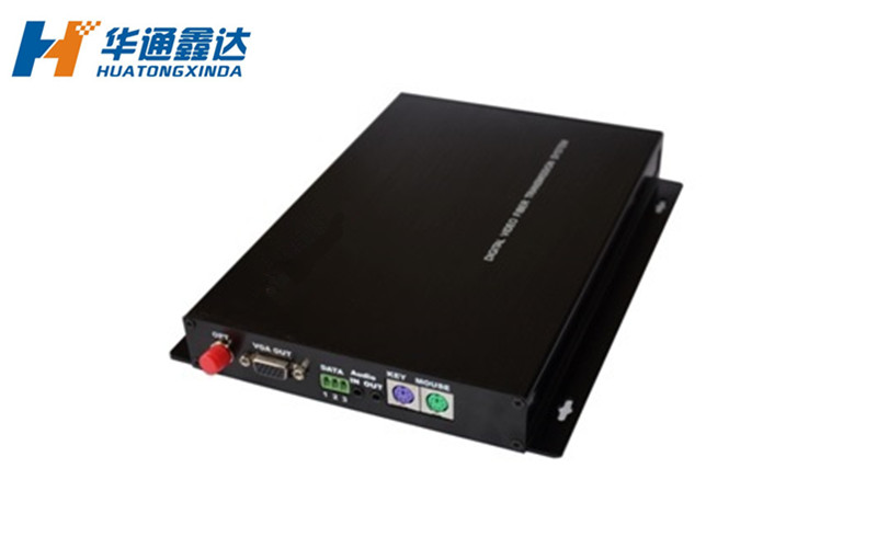 RGBHV视频光端机+音频/数据光端机