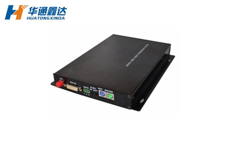 DVI光端机+音频/RS232数据