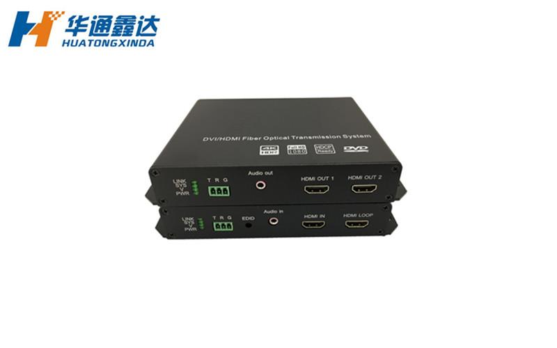 4K HDMI光端机+音频&RS232光端机