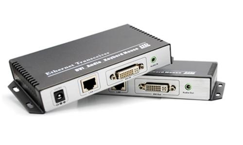 武汉DVI KVM网线网络传输器