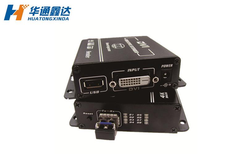 武汉1080P高清DVI KVM光纤延长器