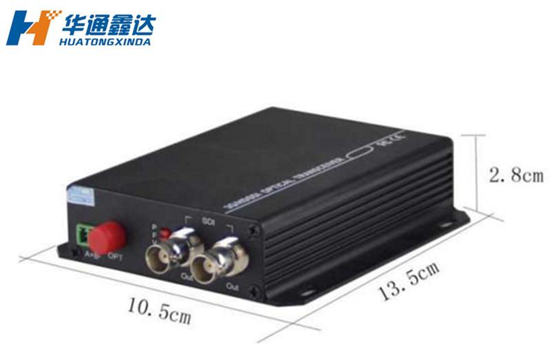 武汉1路双向3G/HD-SDI光端机