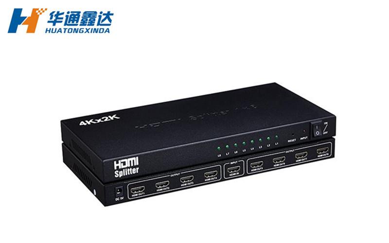 武汉4K HDMI 分配器 1x8