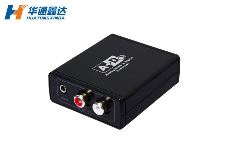 武汉模拟音频转数字同轴-光纤音频转换器