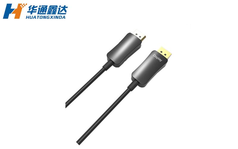 武汉1.2版4K DP光纤高清无损连接线