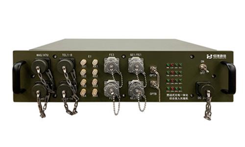 野战式光电一体化综合接入光端机 HJ-iAN220BJ