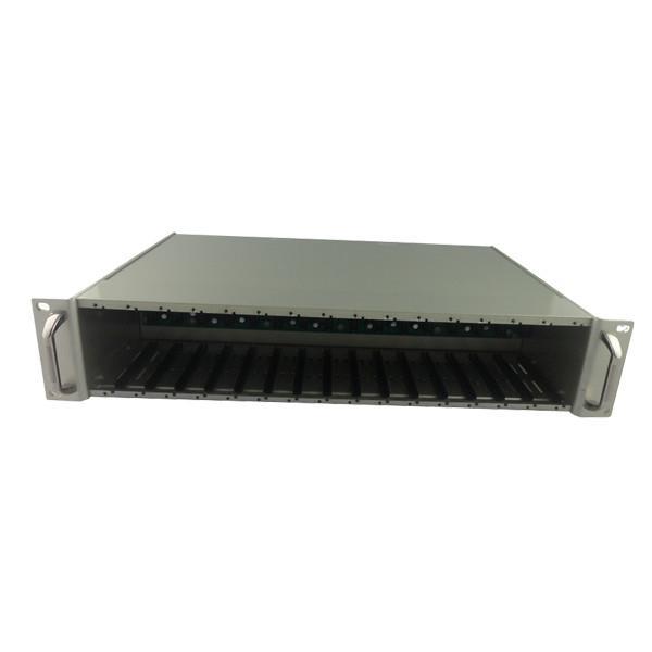 光纤收发器机架/16槽光纤机架/卡式收发器机架