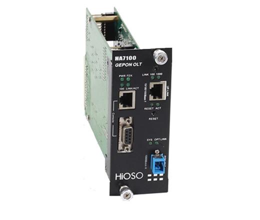 HA7100单口OLT模块卡(适用3U网管机框)