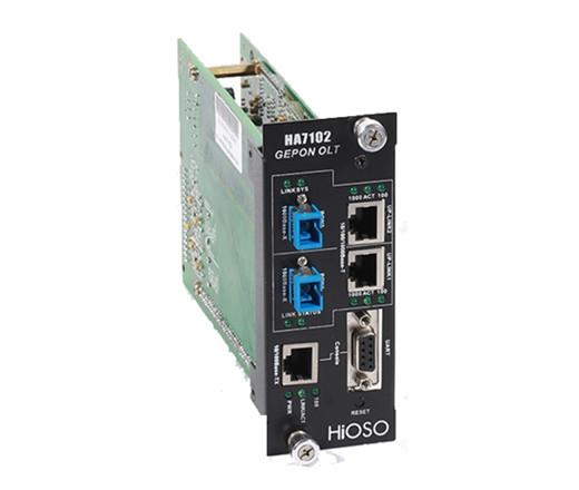 HA7102双口OLT模块卡(适用3U网管机框)