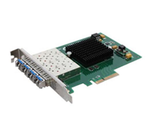 千兆PCI-E四光口光纤网卡OPT-950