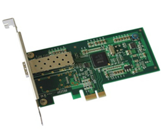 千兆PCI-E x1单光口网卡