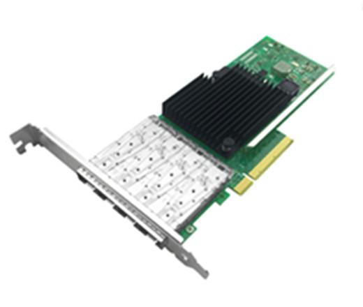 万兆服务器四端口光纤网卡