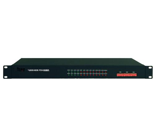 16E1 PDH光端机(4路网络)