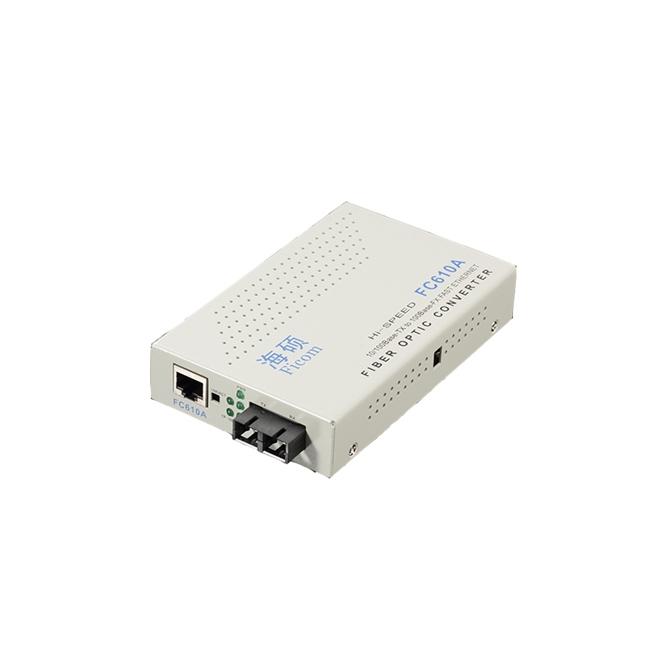 武汉FC610A一光一电百兆光纤收发器
