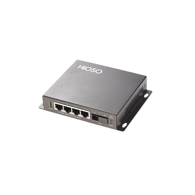武汉FC650A一光四电百兆光纤收发器