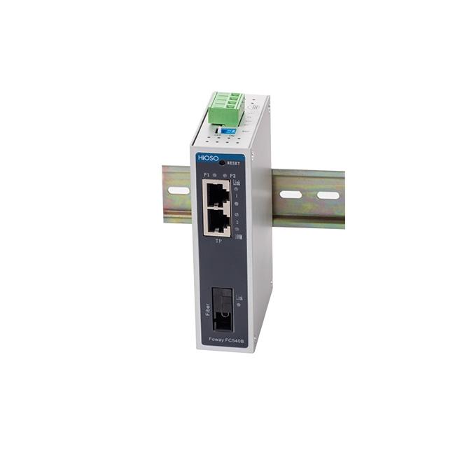 武汉FowayFC540B 一光两电百兆光纤收发器