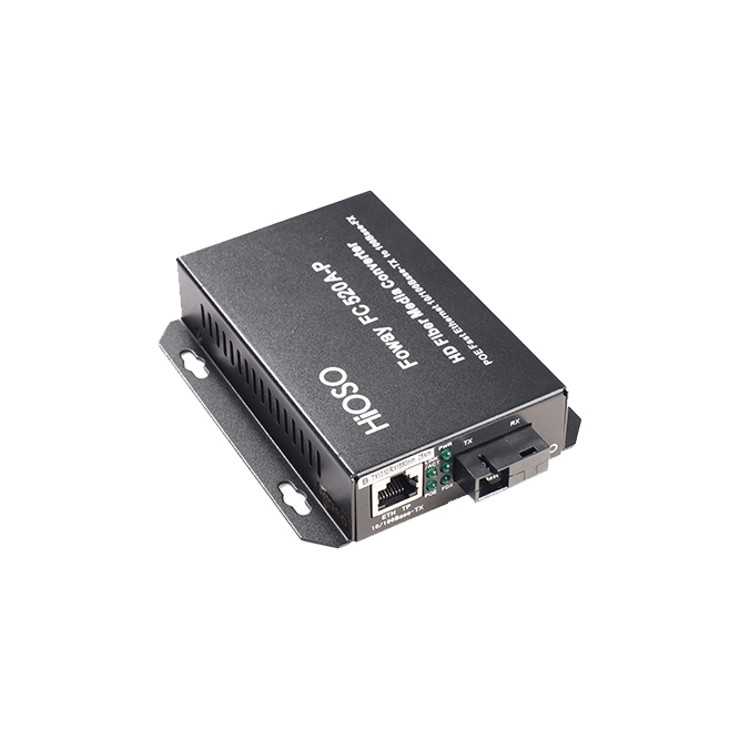 武汉FC-520A-P 一光一电PoE光纤收发器
