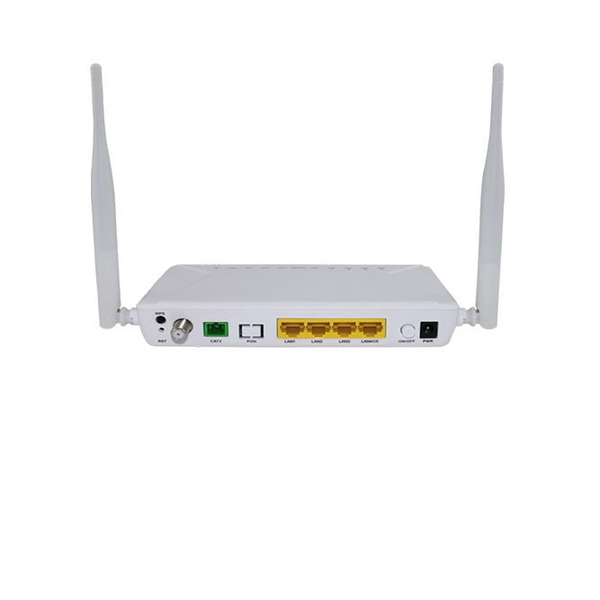 武汉HA414WT 4FE+WiFi+CATV ONU