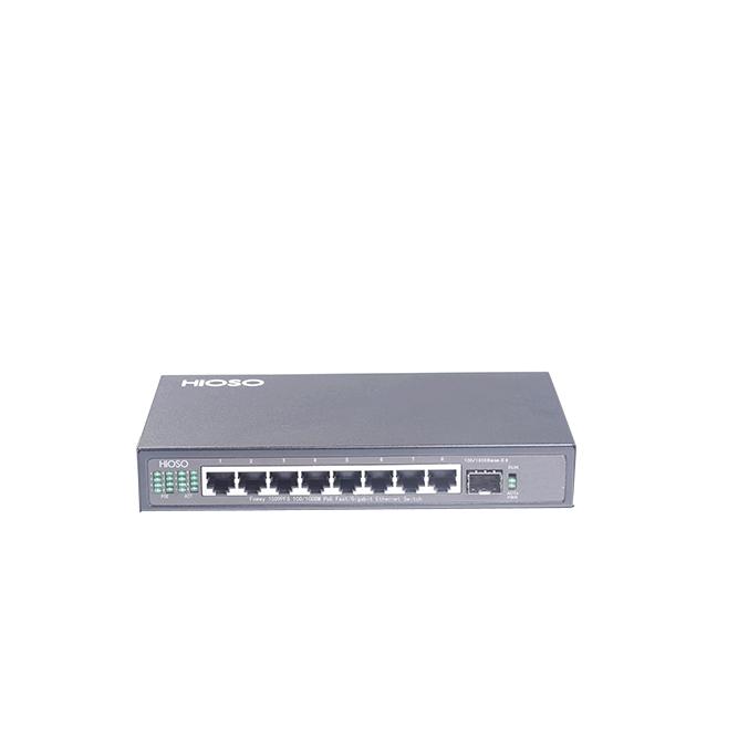 武汉Foway1509PFS 8G PoE+1G SFP光口上联交换机