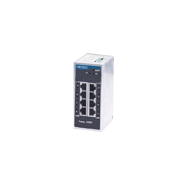 武汉Foway4208T 8电口工业以太网交换机