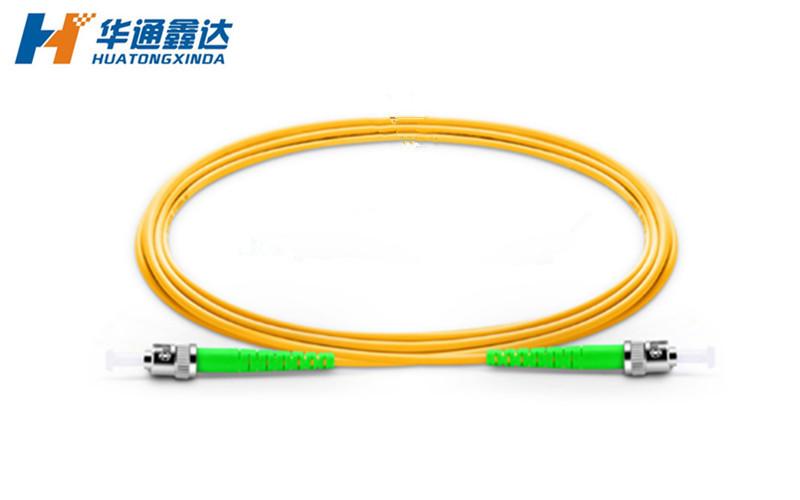 武汉ST/APC-ST/APC单模光纤跳线