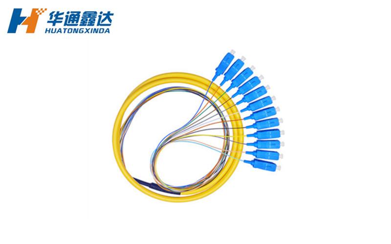 武汉12芯 SC/UPC束状尾纤