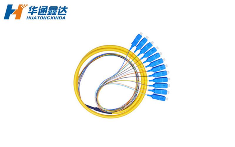 武汉12芯 SC/APC束状尾纤