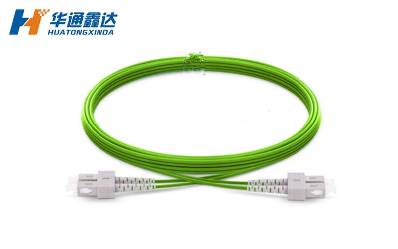 武汉OM5 SC/UPC-SC/UPC 双芯双工光纤跳线