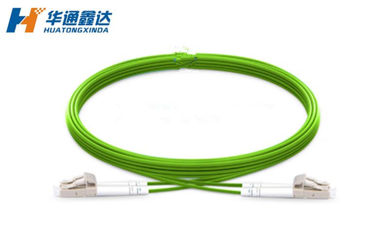 武汉OM5 LC/UPC-LC/UPC 双芯双工光纤跳线