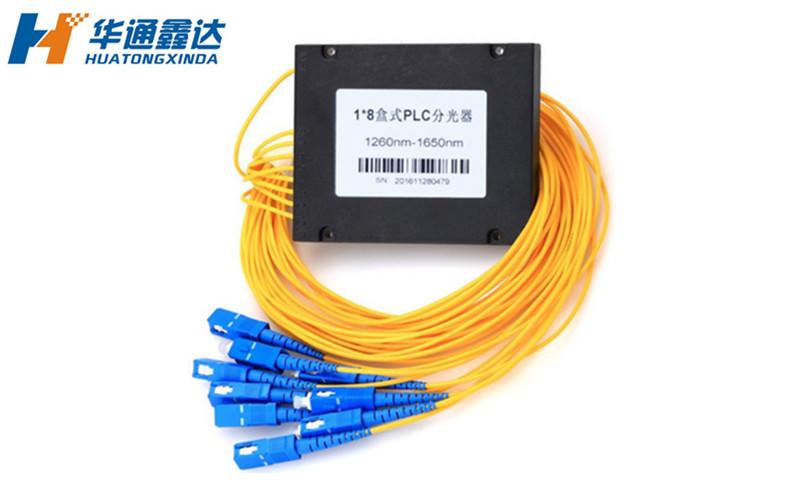 武汉 1分8  SC-APC 盒式PLC分光器