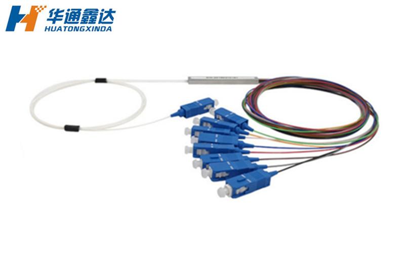 武汉1分8 微分式钢管型PLC分光器