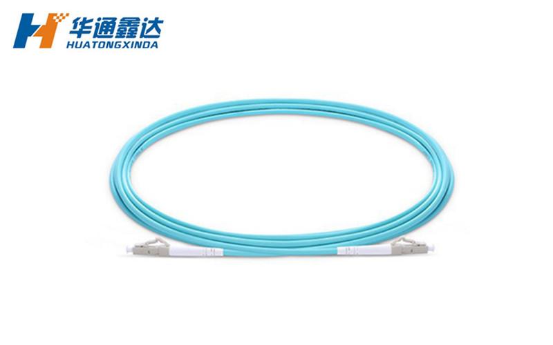 武汉LC/UPC-LC/UPC 万兆 双工 多模(OM4) 50/125 电信级 光纤跳线